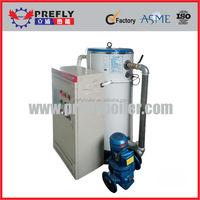 in floor heating system boiler