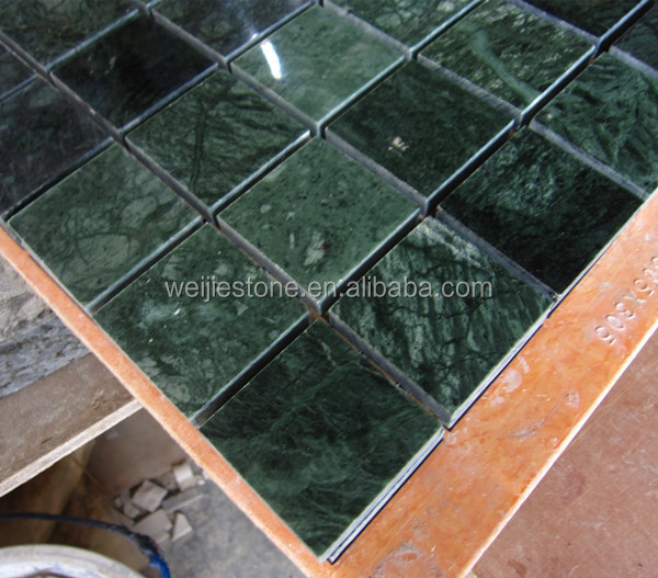 Green Marble Tiles : Verde green marble mosaic tile dark