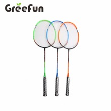 Colorful Fashion Designs Custom Full Carbon Badminton Racket For Sports