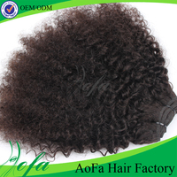 Factory wholesale price beauty afro tight curly weave armenian virgin curly hair