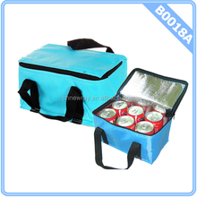 INSULATED SMALL 6 CAN COOL COOLER SANDWICH DRINKS CAN PICNIC BAG