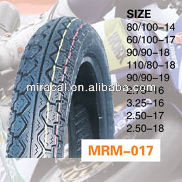 High quality cg125 motorcycle tyre 2.50-17