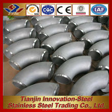 stock 400 series stainless steel 60 degree elbow