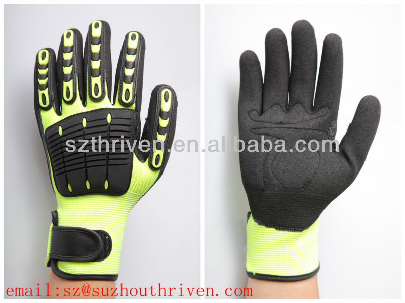 protective mechanical vibration impact gloves