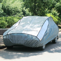 aluminum film+EPE & non-woven three layer thicken car cover hail protection car cover/car covers hail proof