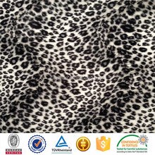 Printed white fabric for baby