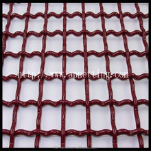 Flat Top Stainless Steel Crimped Wire Mesh Direct Factory