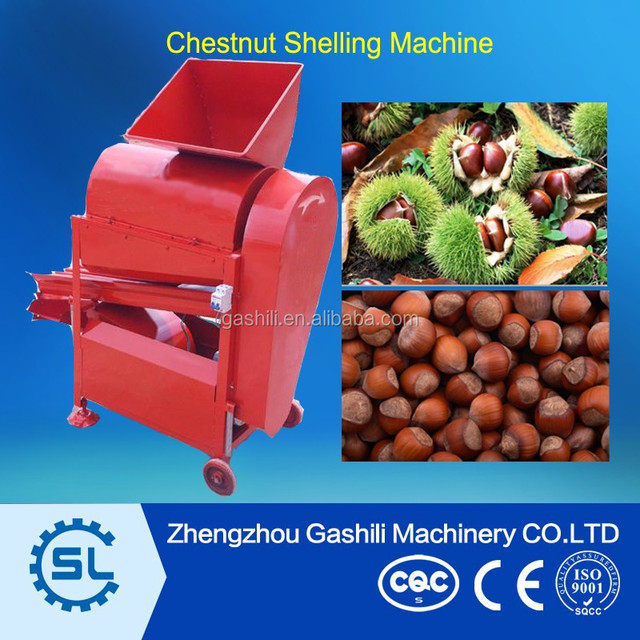 Small Capacity Fresh Chestnut Peeler Machine
