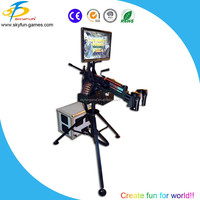 Professional gun simulator shooting for video shooting game machine equipment with great price for sale