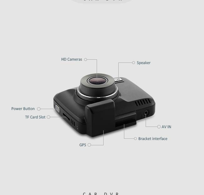 wifi GPS fhd 1080p dash cam user manual