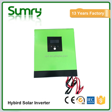 Hot sale new model hybrid solar inverter,1kva to 2kva modified sine wave off grid solar inverter with PWM solar controller