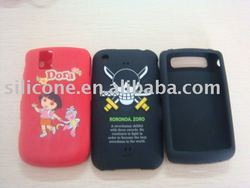 For iPhone Full Color Printing Silicone Cover