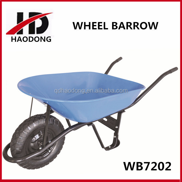 WB7202 Peru popular concrete wheelbarrow for construction