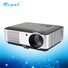 High lumens full HD led/lcd 1080p portable home theater music system audio video projector