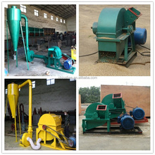 Professional diesel wood chipper shredder / diesel wood chopping machine