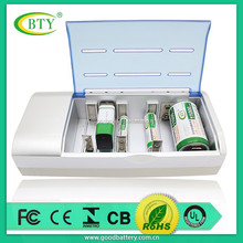 BTY and Beston manufacturer super universal AA/AAA SC C D size ni-mh / ni-cd 9v battery charger aa battery charger