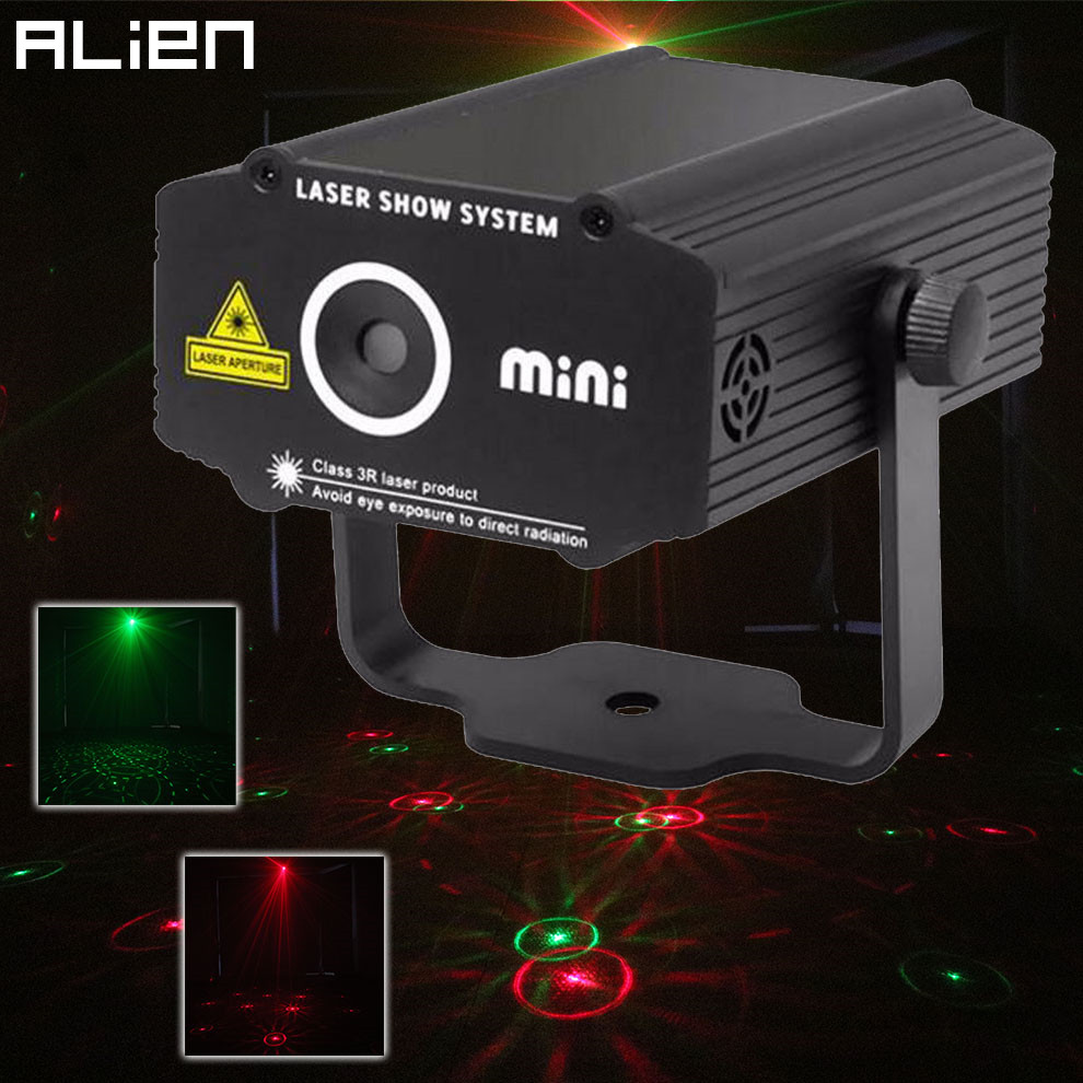 20MW Green Dj Bar Mini Disco Laser Light Projector