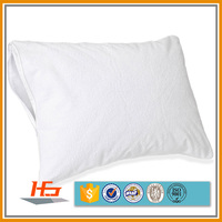 Bulk Waterproof Bed Bug Pillow Case Cover Terry Top Surface Queen Size On Sale