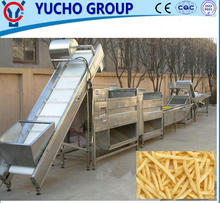 China manufacturer Frozen Potato French Fries Production Machines