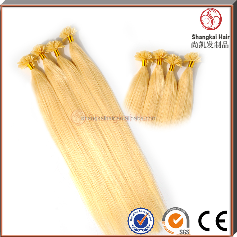 Cheap Price Human Hair Nail Tip Hair Extensions