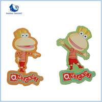 China supplier wholesale soft pvc rubber 3d embossed fridge magnets