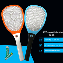 Electric Fly Killer Racket aa Battery Operated Electric Kill Flies Mosquito Racket