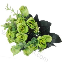 Artificial plastic bouquets for wedding decoration