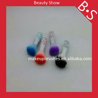 2013 Hot sale high quality blush brush,beauty need cosmetic colorful power blush brush for beautician,free sample