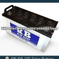 High Quality RB EB 100 12V Solar Panel Battery