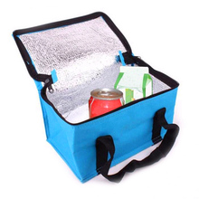 factory wholesale cooler bag/ice bag with aluminium foil