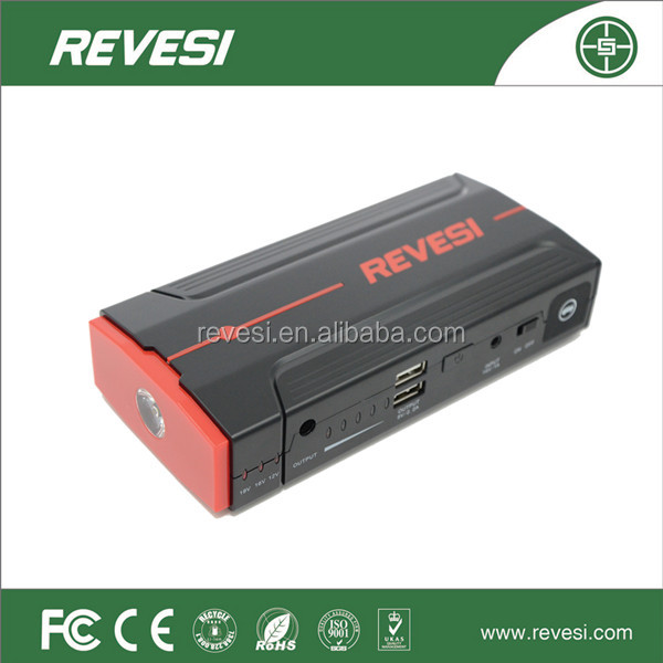 China supplier of 2015 new Portable high quality Car Jump Starter new product multi-function car jump starter battery power bank