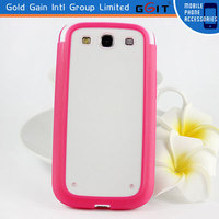 Stylish TPU PC Case Cover For Samsung, For Galaxy S3 i9300 Case Cover