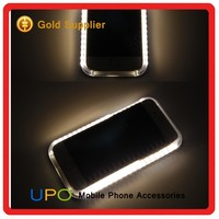 [UPO] High Quality Popular illuminated Led Selfie Phone Case for iPhone 6 6s Light Up Covers
