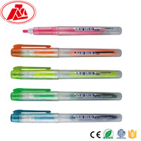 Multi colored and the best price liquid highlighter ink refill pen