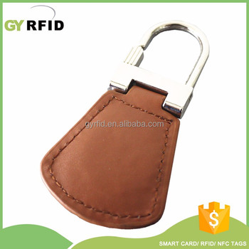Customized Printing Rfid Proximity Smart Ntag203 Rfid Keyfob Tags/Nfc Keychains