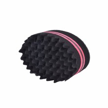2017 Hot selling Dreads Locking Twist hair curl sponge twist and coil sponge,brush
