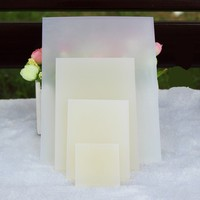 transparent rubber making clear soap stamps