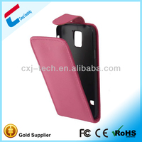Flip leather newest case for samsung galaxy core i8260 i8262 waterproof
