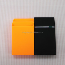 2016 medical grade silicon ladies Mix etui slim promotional silicone super slims design lady cigarette case