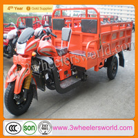 China Manufacture 2013 New Design Model 200cc/250cc Motorized Cheap Two Seat Adult Tricycle for Sale