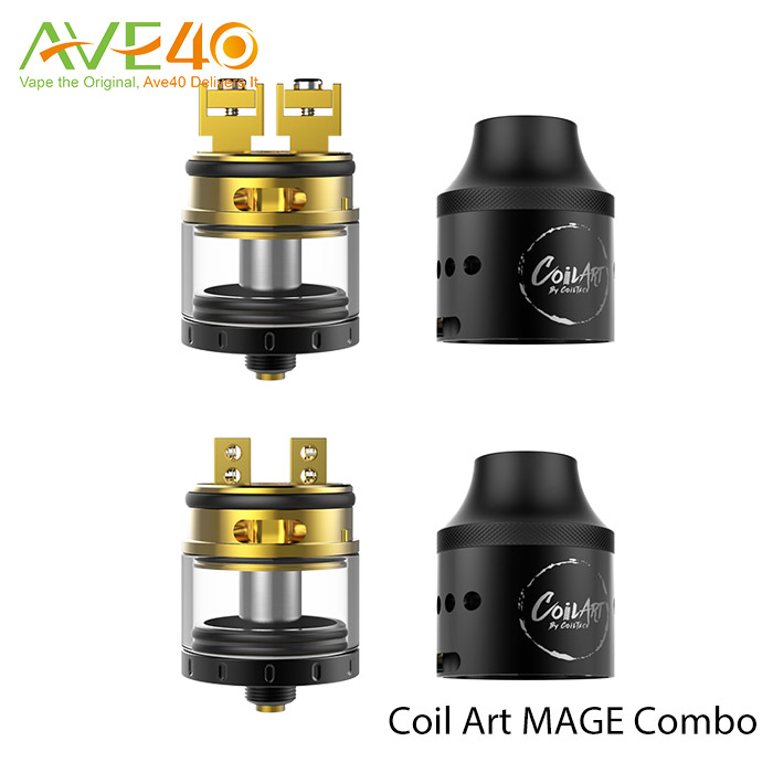 Coilart new desing Coilart mage COMBO 304 Stainless Stee+24k gold in stock in AVE40 wholesale russia