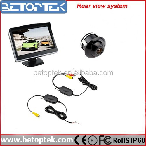 Hot Sale 5 Inch Monitor Wireless Rearview Camera System RV