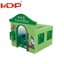 Cheap Residential Area outdoor playhouse Plastic Kids Playhouse