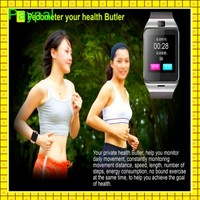 cheap Sedentary remind 3G camera and waterproof lady smart watch sim