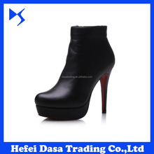 Winter Warm 2016 Ankle Boots Hottest Selling High Heel Women Boots DS-SH010