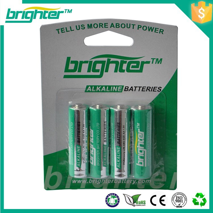 Stable Quality Lr6 1.5v Alkaline Dry Cell Free of mercury battery