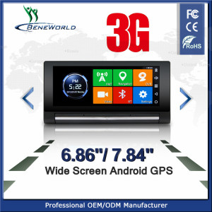 Smart 3G on-Dash GPS Navigation for car