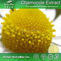GMP Supplier 1.2%~98% Apigenin Chamomile Flower Powder, Matricaria chamomilla Powder