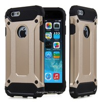 Shockproof 2 in 1 Hybrid Heavy Duty Durable Rugged Tough Mobile Phone Armor Case For iPhone 6 Plus 6s