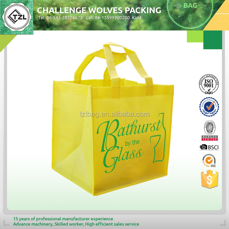 China Supplier Import Export Non Woven Bags Promotion Shopping Bag